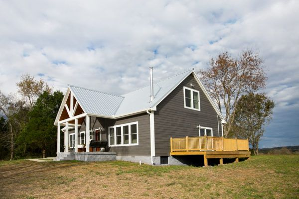 Riverwood cabins by woodtex cottage craftsman and for Prefab shotgun house