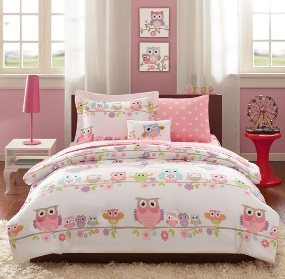 sets comforter girl girls twin kids for