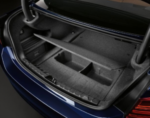 Hidden Storage Space in BMW Trunk   Secret and Secure Spaces   Bmw 4