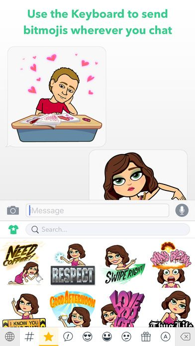 Bitmoji Your Personal Emoji by Bitstrips Emoji, Iphone