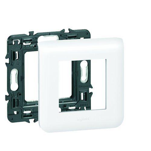 Legrand Leg99675 Plaque Support Pour 2 Modules Fixation à