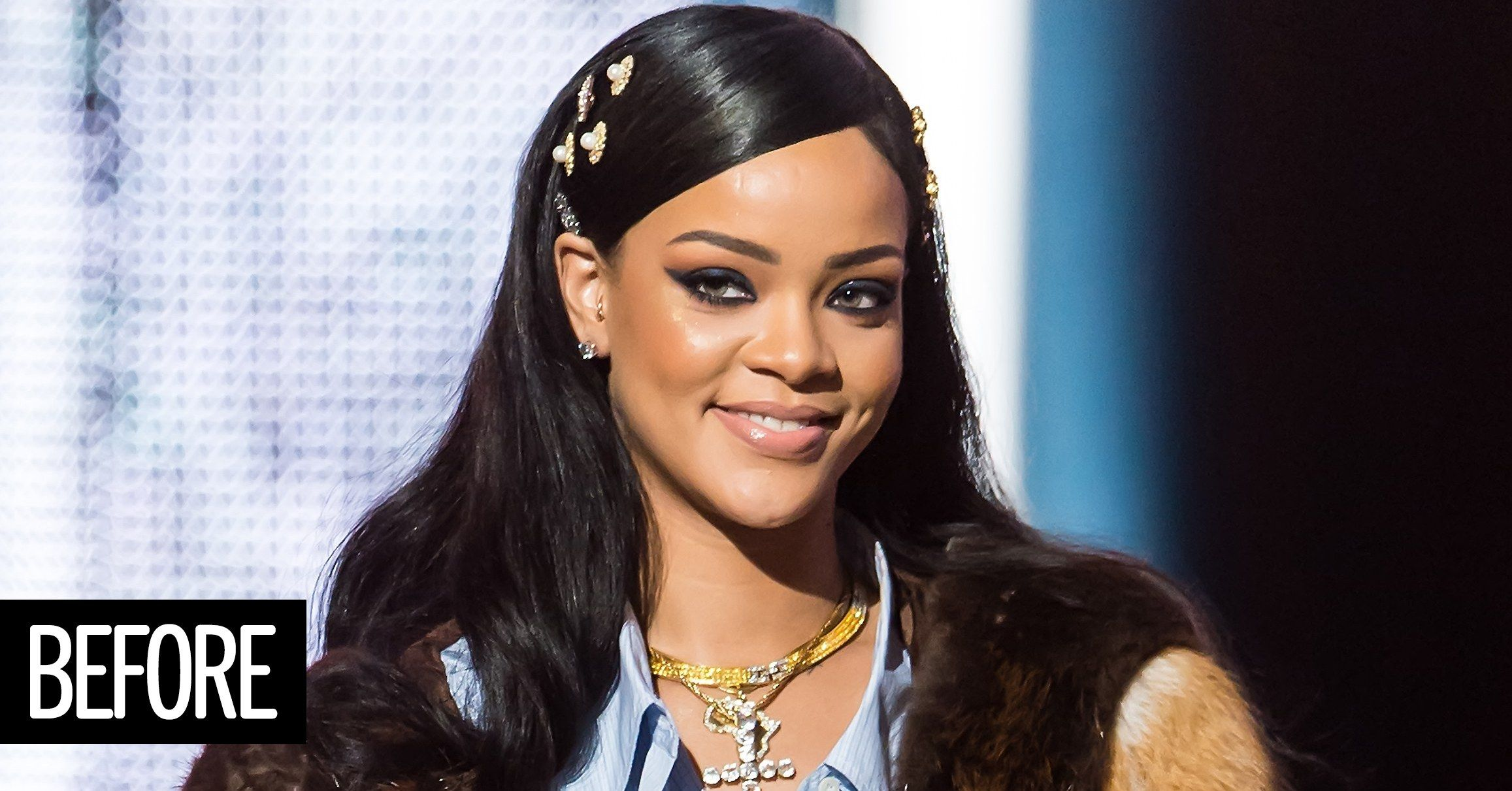 Rihannas Cute New Bangs Are Here To Inspire Your Next Haircut