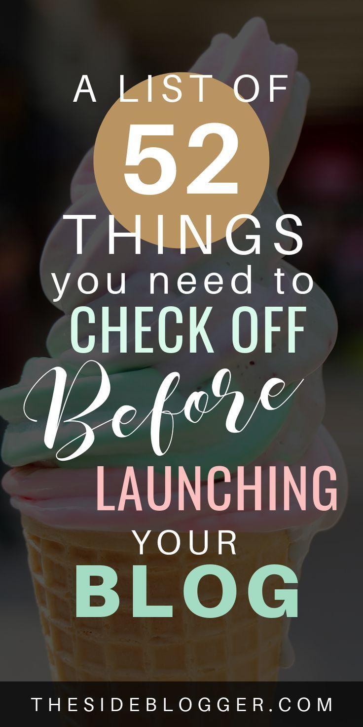 Start Blogging with This Massive, 52-Point Blog La