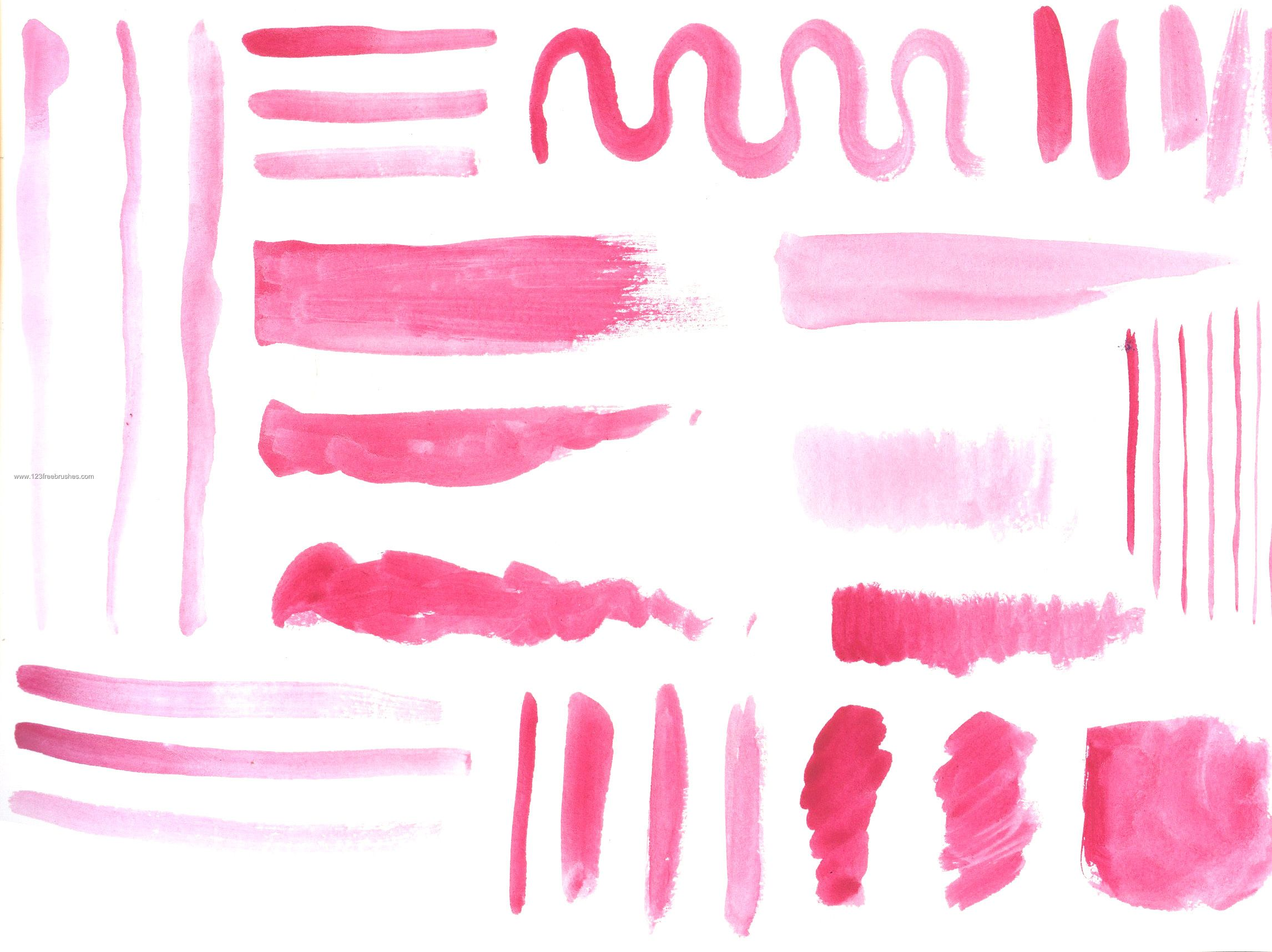 watercolor brushes photoshop