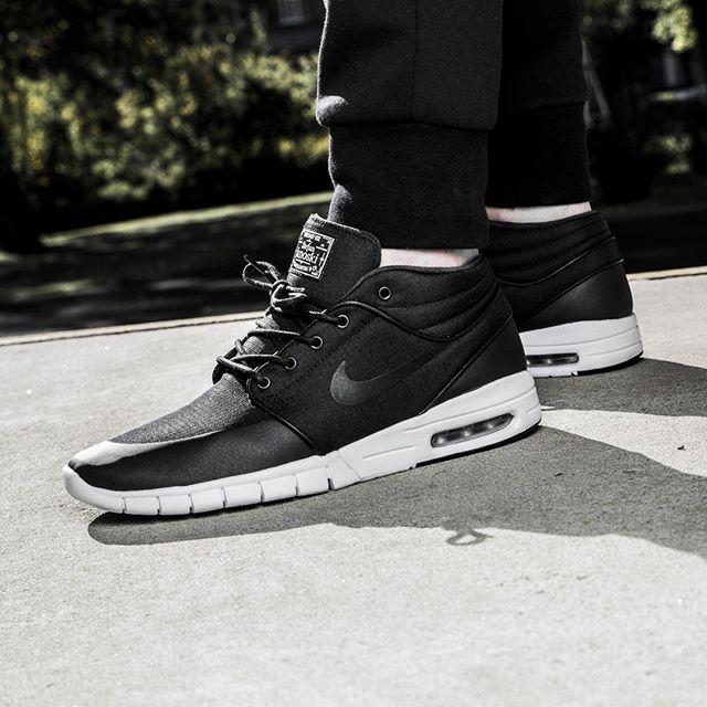 Nike SB Stefan Janoski Max Mid (schwarz / weiß) - 43einhalb Sneaker Store  Fulda