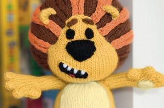 Raa Raa The Noisy Lion knitting pattern