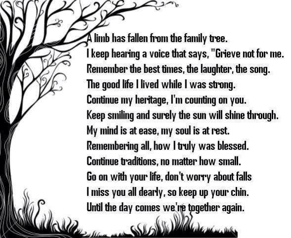 Quote For Loved One Who Passed Away