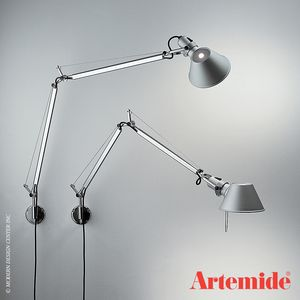 Artemide Tolomeo Classic Wall Lamp Wall Lighting Design Wall Lights Wall Lamp