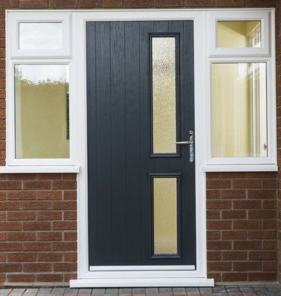 Anglian Palma Classic Door In Anthracite Grey Classic Doors Grey Front Doors Doors