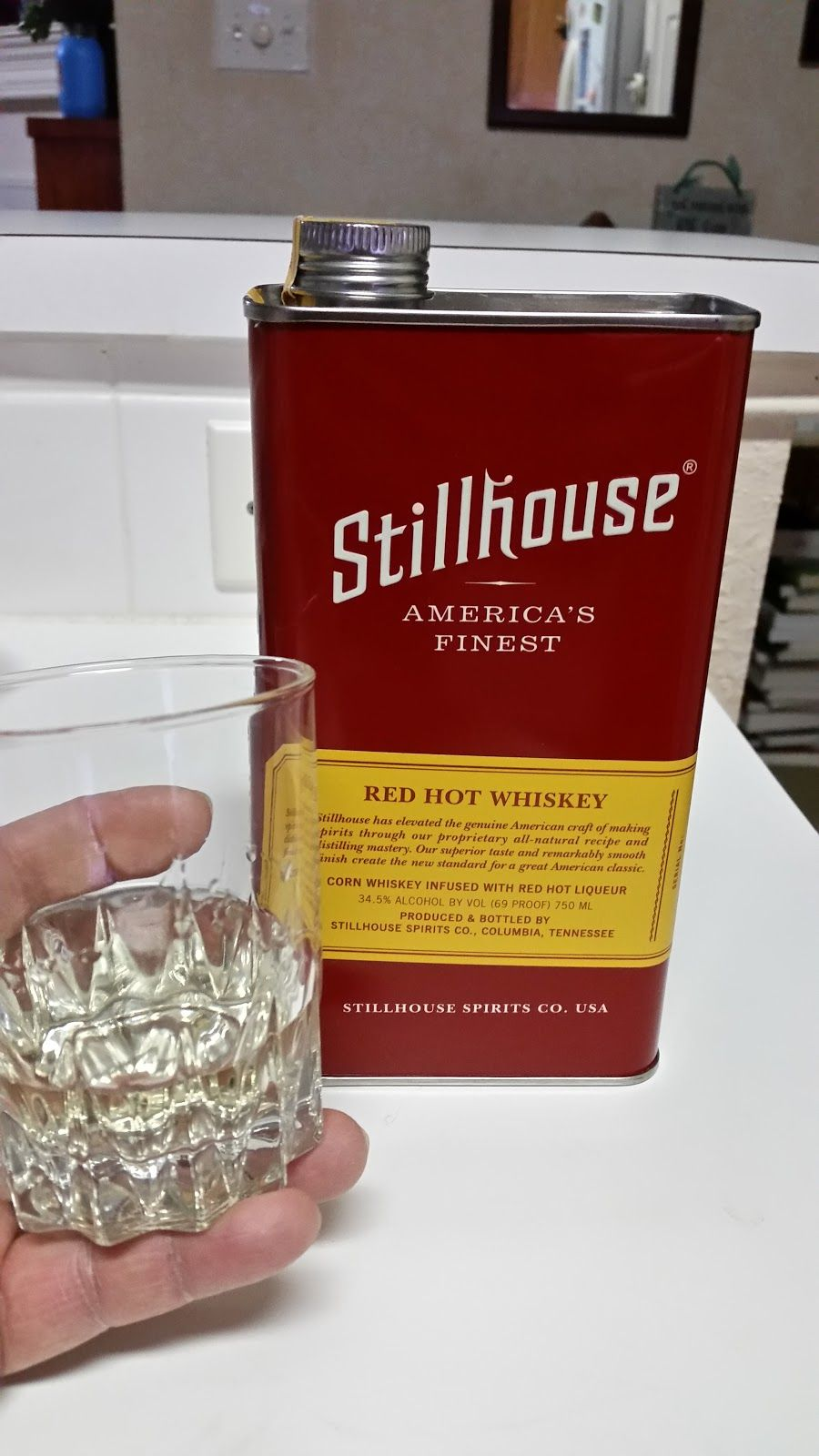 Stillhouse Red Hot Whiskey Inexpensive Wine Wino Red Hot