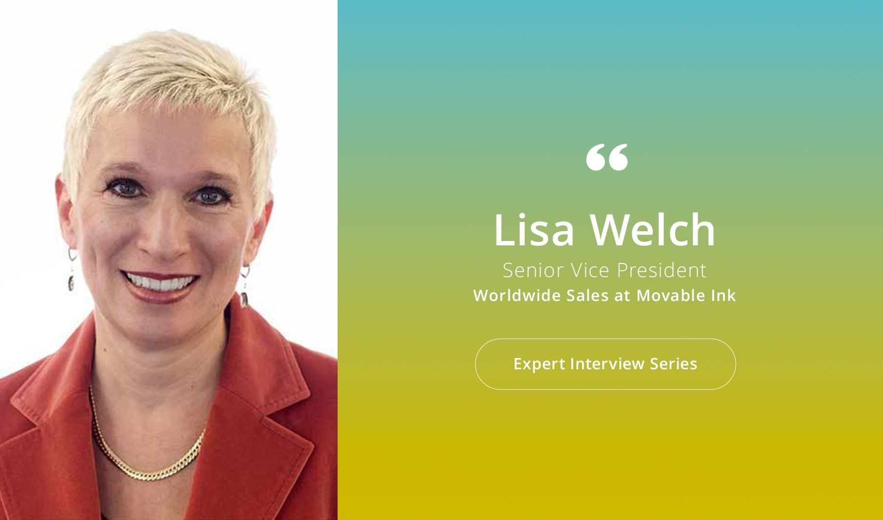 Expert #interview series: lisa welch of movable ink on contextual email marketing - kitedesk