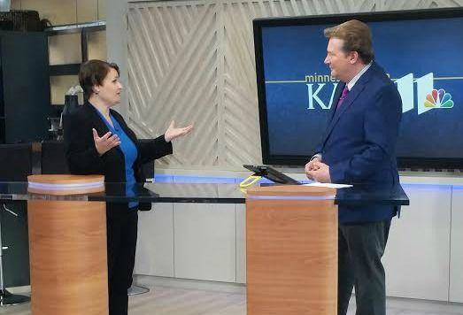 Appearance on KARE 11 on 10/10/16 to promote MN Blogger Conference