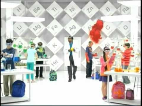 Target Commercial 2012 'Back To School' Science Teacher