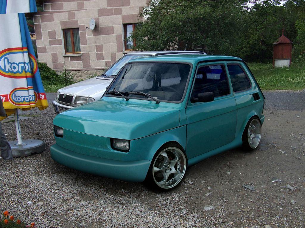 Fiat 126 #fiat | 126 SLAMMED | Pinterest | Fiat 126, Fiat ...