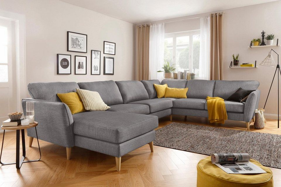 Home Affaire Wohnlandschaft Marseille In Skandinavischem Stil In
