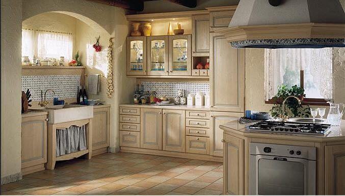 cuisine de style proven231al classique en bois peinte
