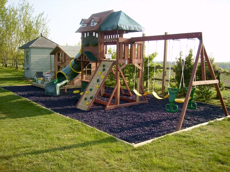 The Anti Helicopter Parents Plea Let >> Big Play Area Replacing The Pond Backyard For Kids Kids Play