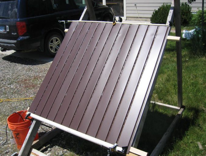 Simple Cheap Solar Pool Heater Solar Amp Wind Solar