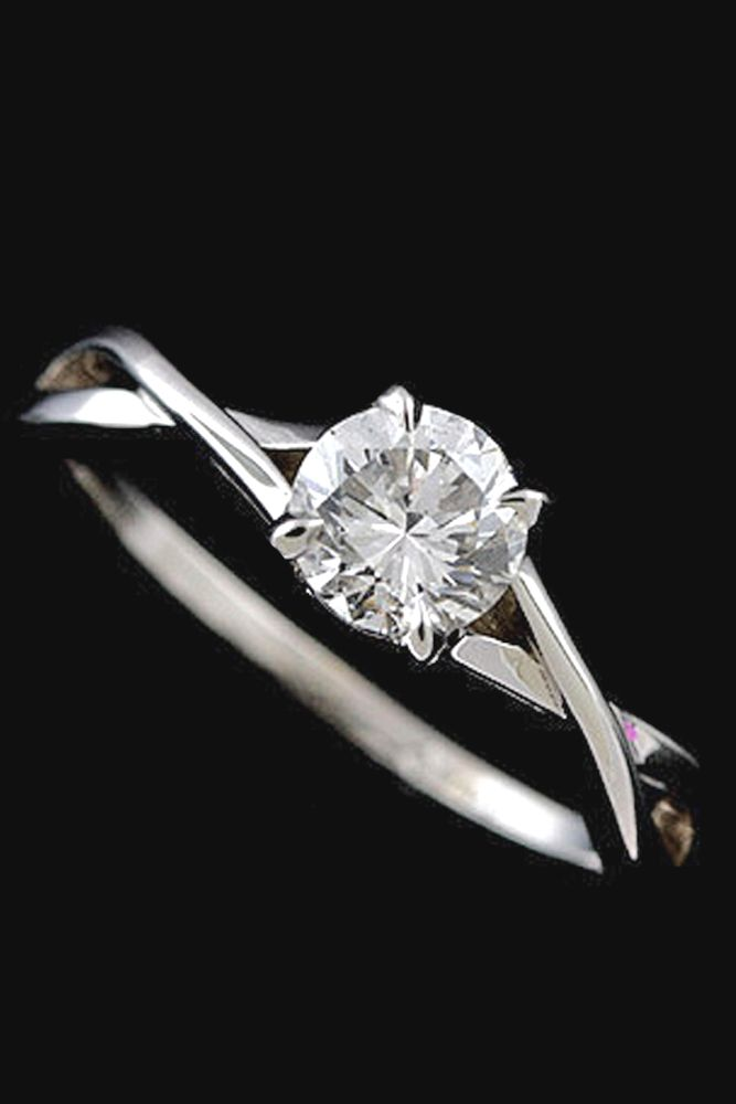 36 Simple Engagement Rings For S Who Love Clic Style