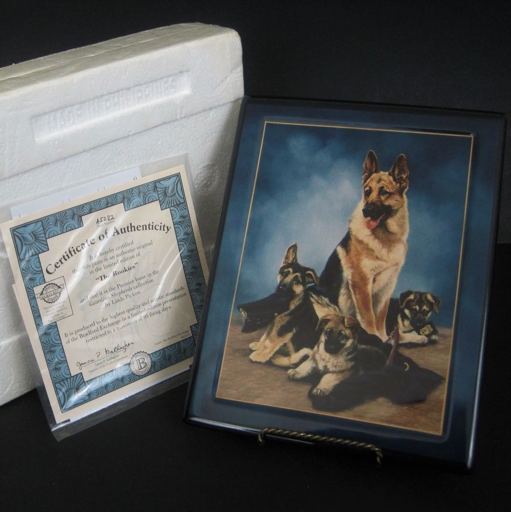 Guardian Shepherds Plaque Police Dogs Bradford Exchange The Rookies Gift New Bradfordexchange Your Spirit Animal Precious Gifts Police Dogs