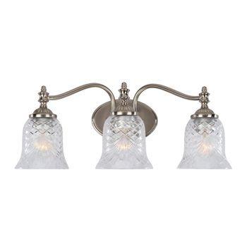 Costco Laurel Designs 3 Light Pewter Finish Bathroom Vanity