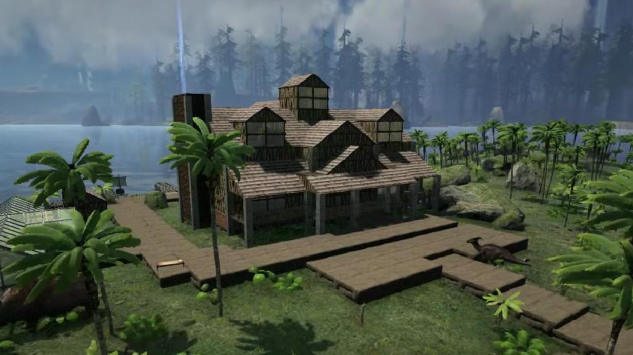 Ark Survival Evolved Huge House Design Affaires De Geek Minecraft Design