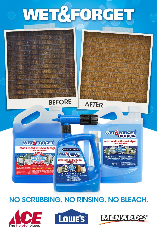 Easy Outdoor Cleaning Cleaning Outdoor Cleaning Mildew Remover