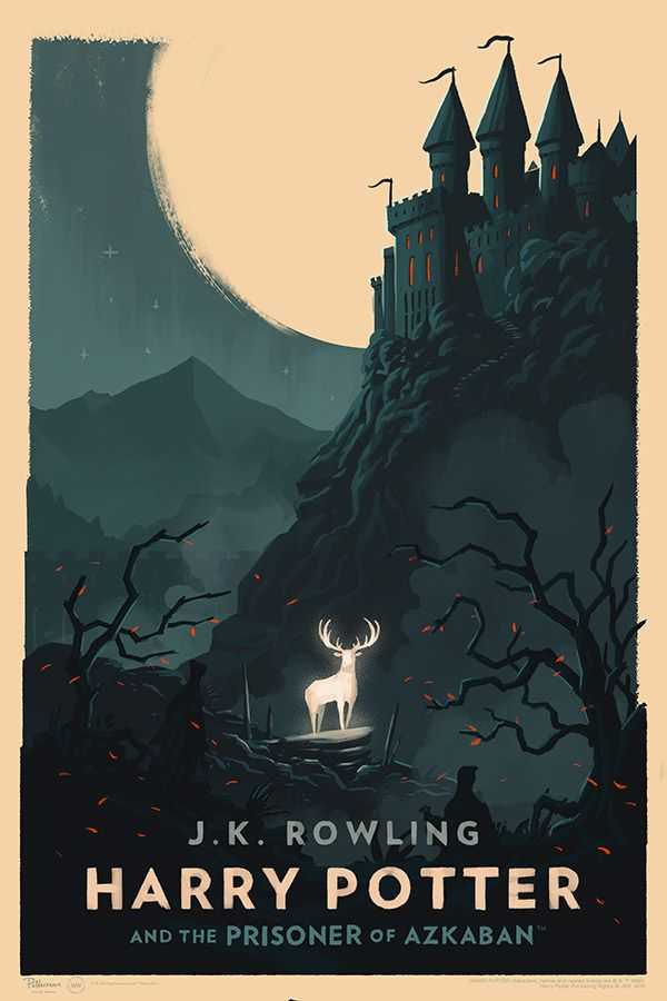 These New Harry Potter Posters Are Gorgeous Harry Potter Poster Harry Potter Book Covers Harry Potter Art