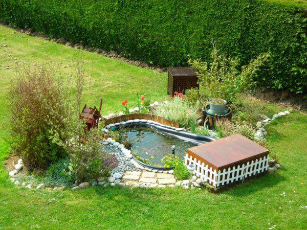 tout petite bassin de jardin préforme