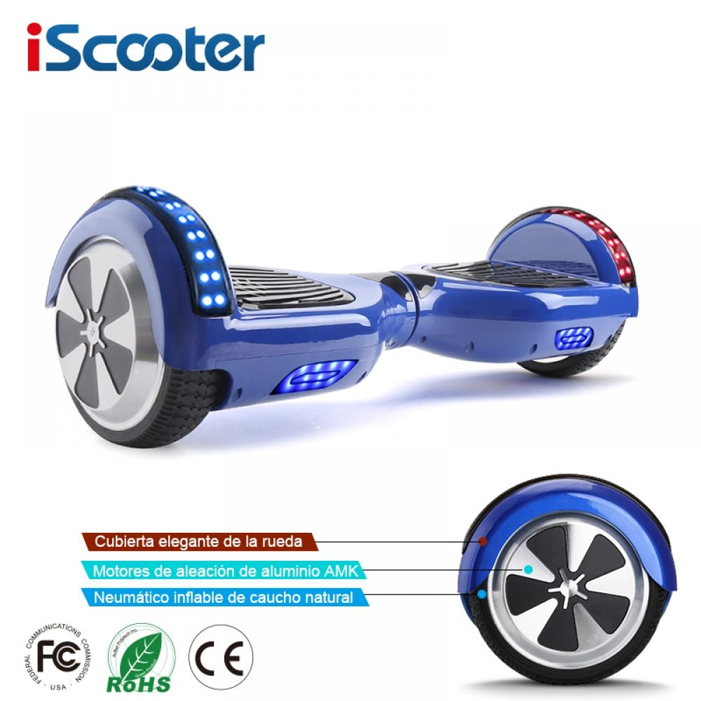 Hoverboards Self Balance Kick Gyroscoot Electric Scooter Skateboard Oxboard Electric Hoverboard 6 5 Inch Two Wheels Hover Board In 2020 Electricity Hoverboard Scooter