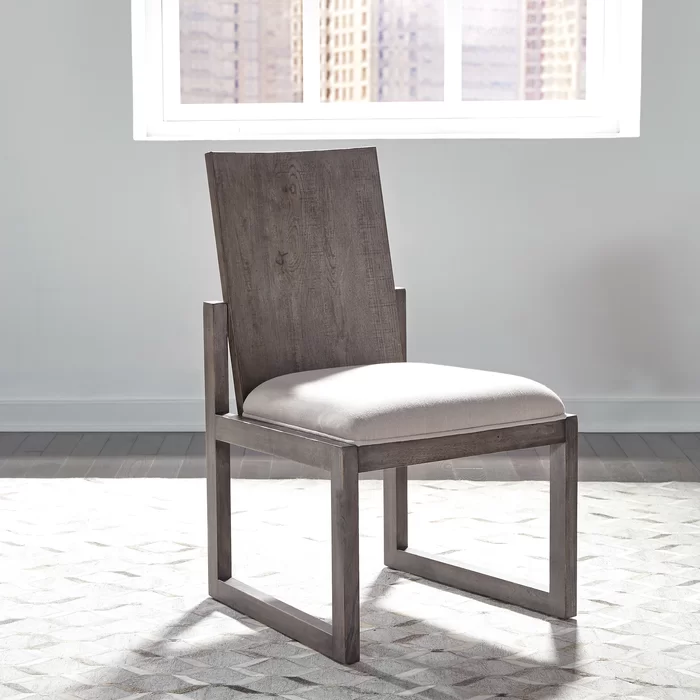 Gracie Oaks Tapscott Upholstered Dining Chair Wayfair In 2020 Dining Chairs Fully Upholstered Dining Chair Solid Wood Dining Chairs