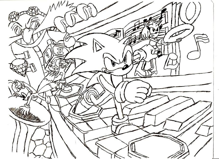 Sonic Adventure 2 Coloring Pages Christmas Coloring Pages Coloring Pages Coloring Pictures For Kids