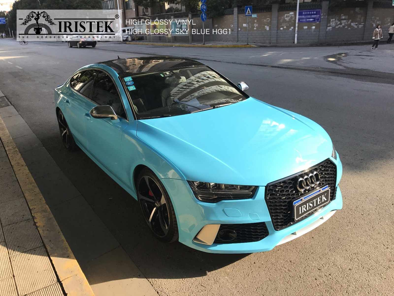 High Glossy Vinyl Model Hgg1 Color High Glossy Sky Blue We Have Serves Team To Train Customers About Product Kn Car Colors Luxury Car Interior Vinyl Wrap Car