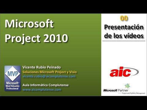 Tutorial MS Project 2010