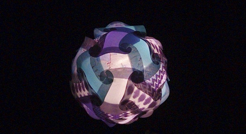 Patchwork lantern