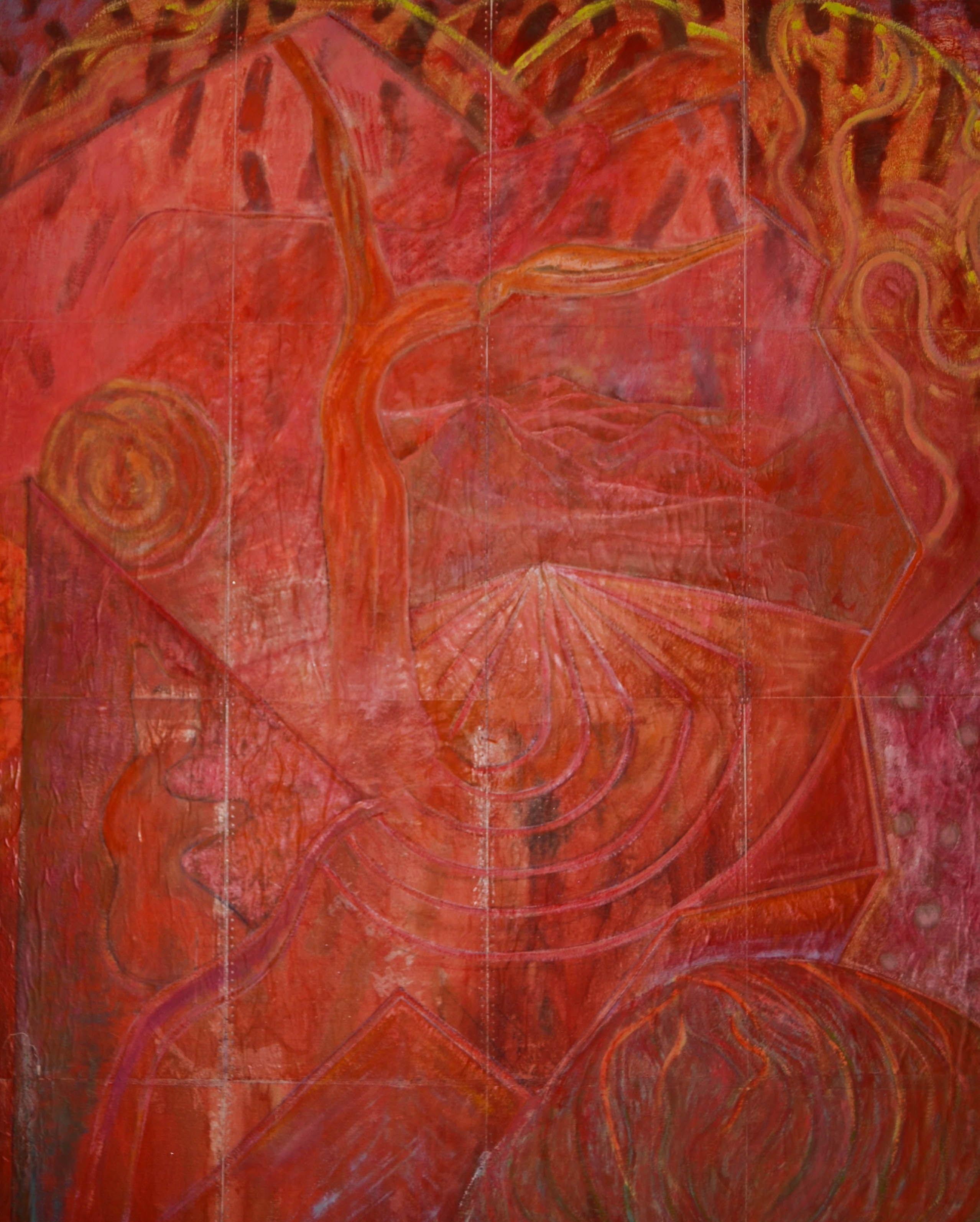Cuadro de Rafael Enterria rafaelenterriartista@gmail.com #rafaelenterria #colores #colors #farben #enterrias #arte #cuadros #pintor #artista #gallery #red #rojo