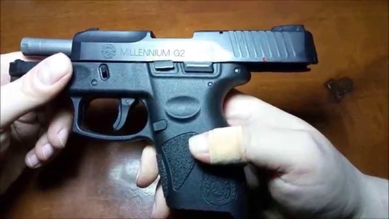 Field Stripping Taurus PT111 Millennium G2 | Gunsmith | Hand