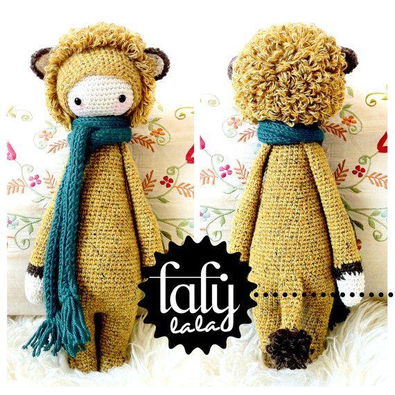HÄKELANLEITUNG Puppe LONI die Löwin / Löwe PDF von lalylala auf Etsy, €5.50