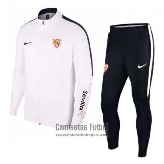 a6cd6d49a Chandal del Sevilla 2018-2019 Blanco | SOCCER Shoes | Adidas, Soccer ...