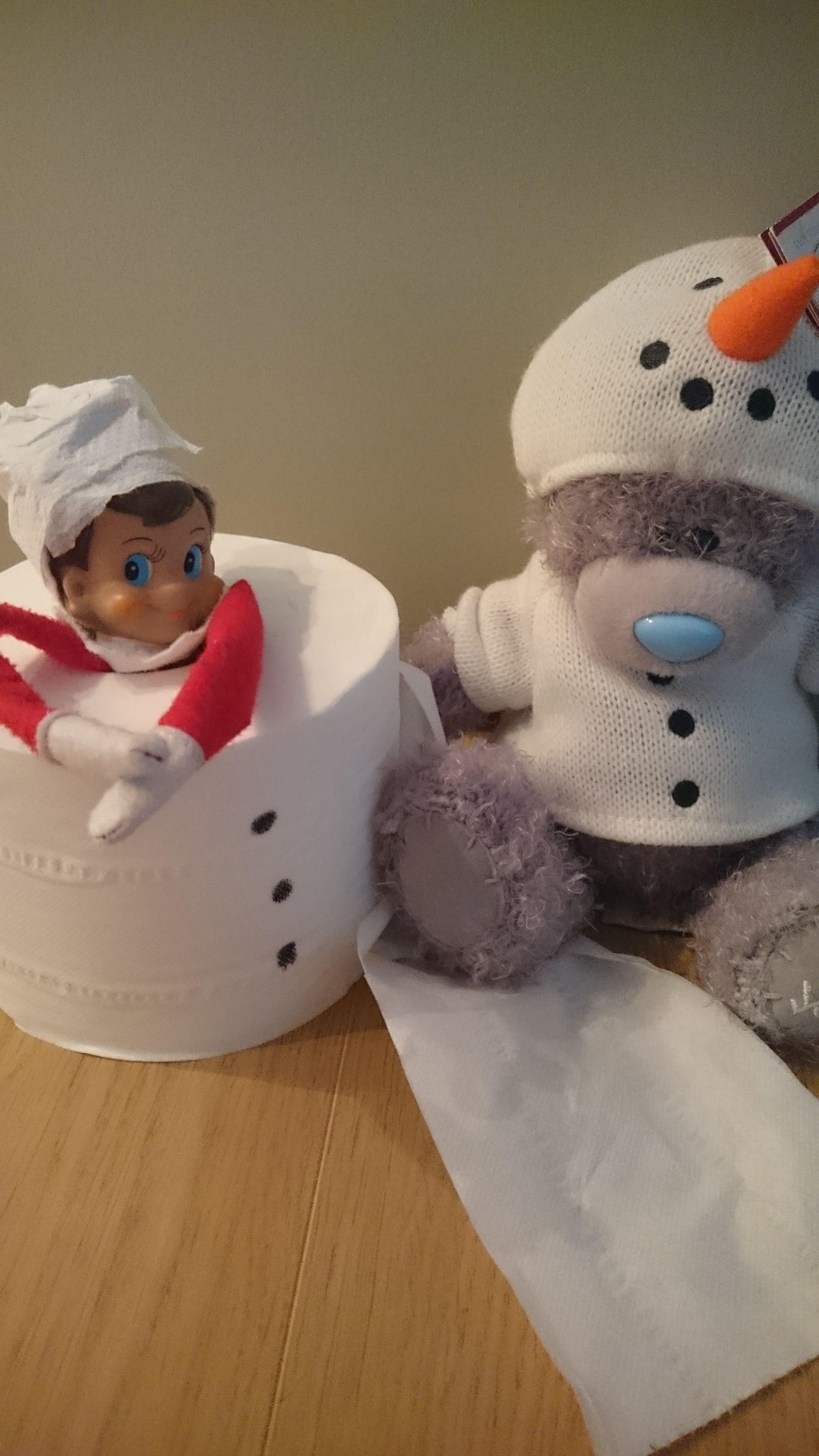 He's found a friend! #Snowman