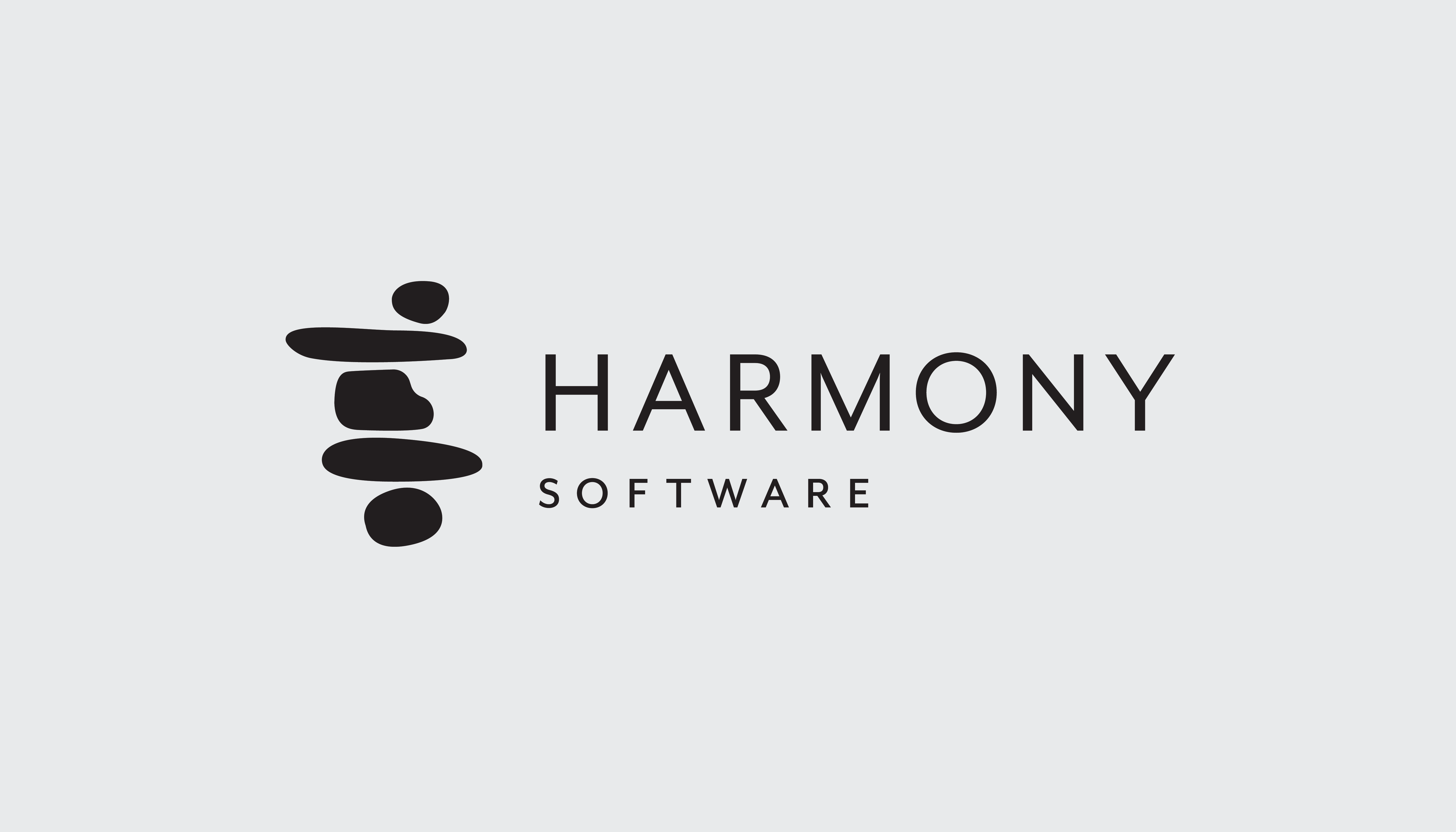 Harmony Software Logo By Vervaine Design Studio Logo Software Minimal Logo Design Natural Logo