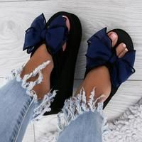 Photo of Casual Thick Non-slip Bow Slippers