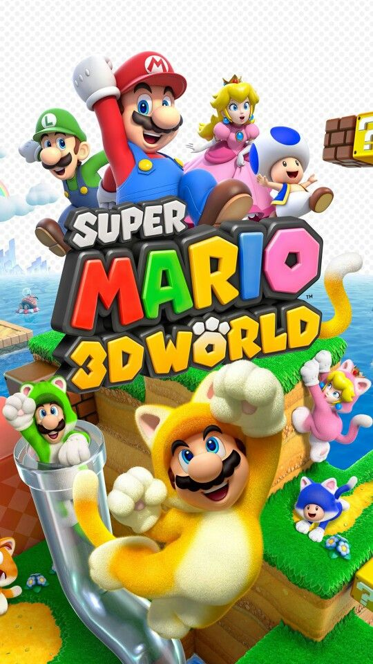 Super Mario 3d World Super Mario 3d Super Mario World Super Mario
