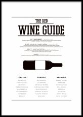 Red Wine Guide, poster