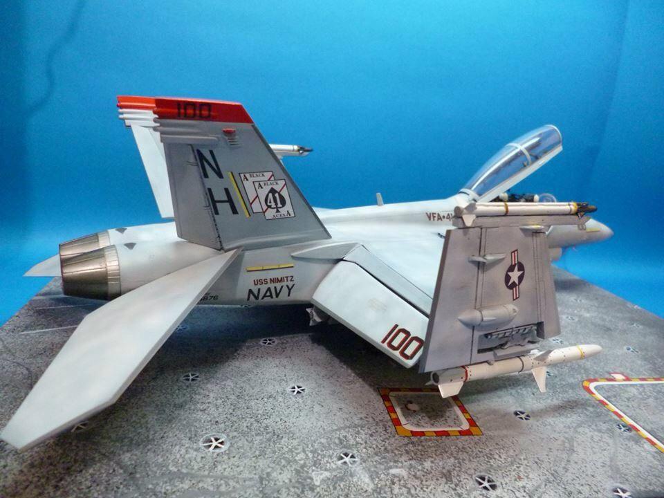 F-18F super hornet in scale 1/48