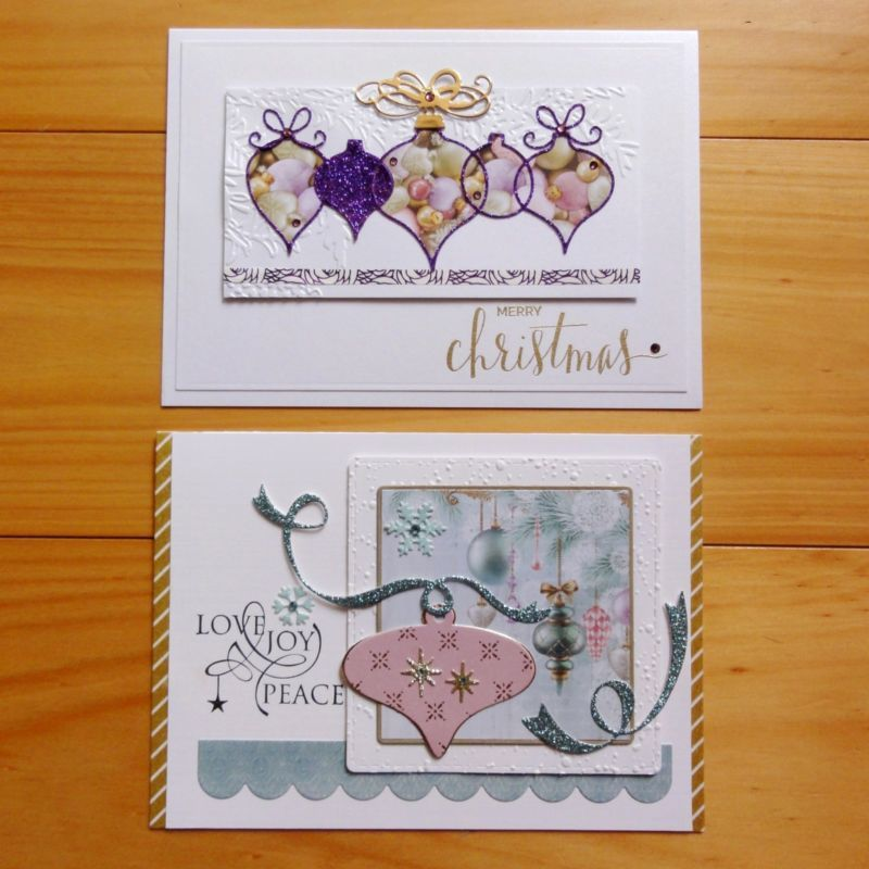 "KAISERCRAFT CHRISTMAS WISHES GOLD PINK BLUE PAPER PAD 6.5""x6.5"" 40 SHTS - NEW"