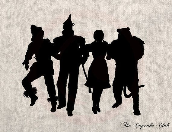 Wizard Of Oz Wall Decal 30 X 20 By LynchmobGraphics On Etsy Part 56
