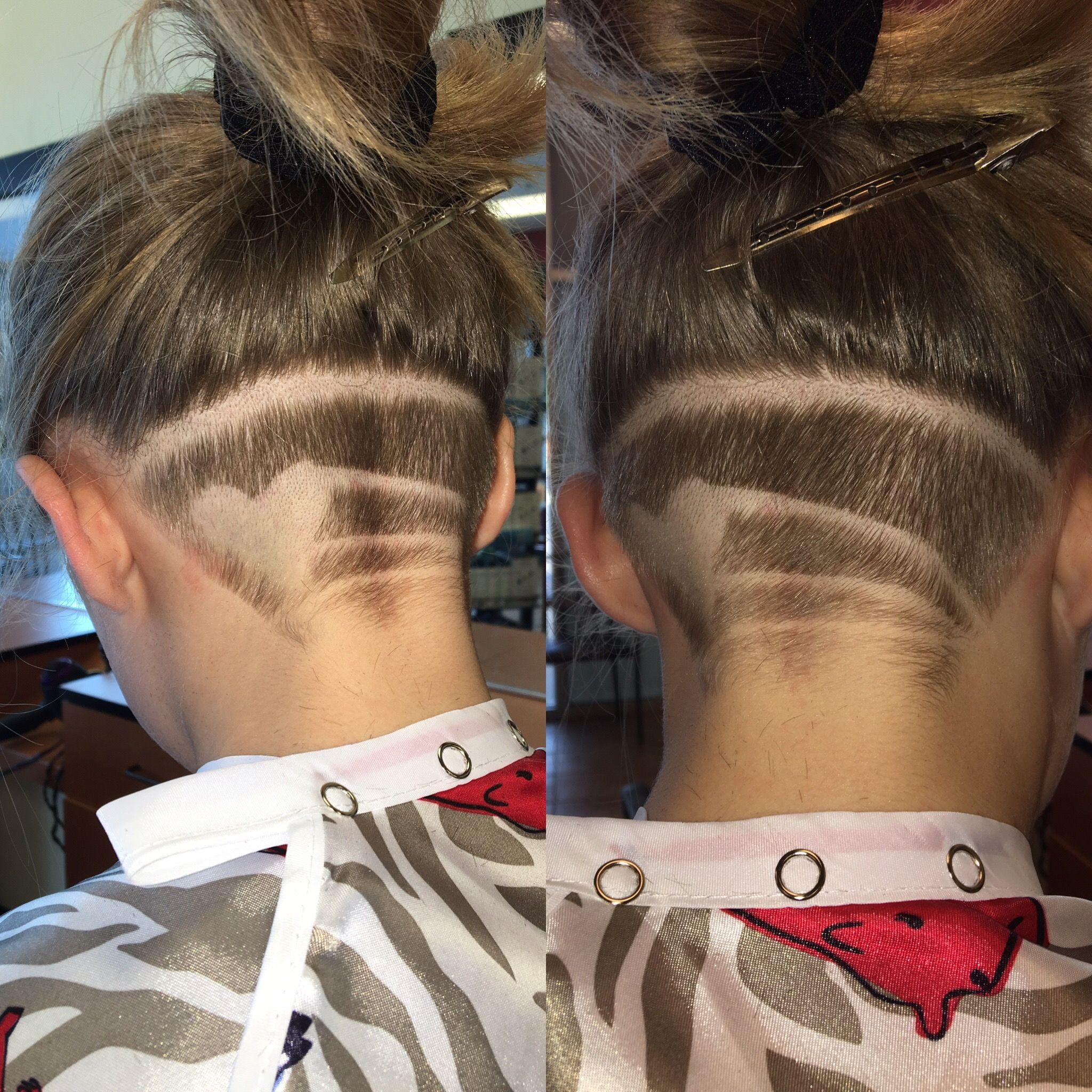 heart undercut haircut design   hair tattoos in 2019   hair