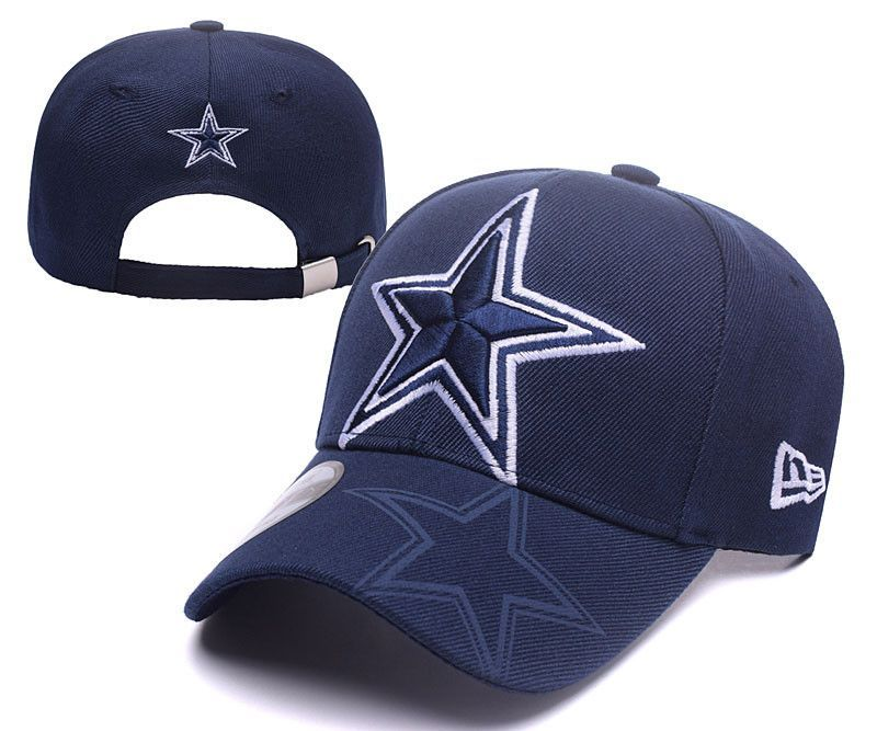 b97d17a3e Dallas Cowboys Curved Bill Snap Back hat