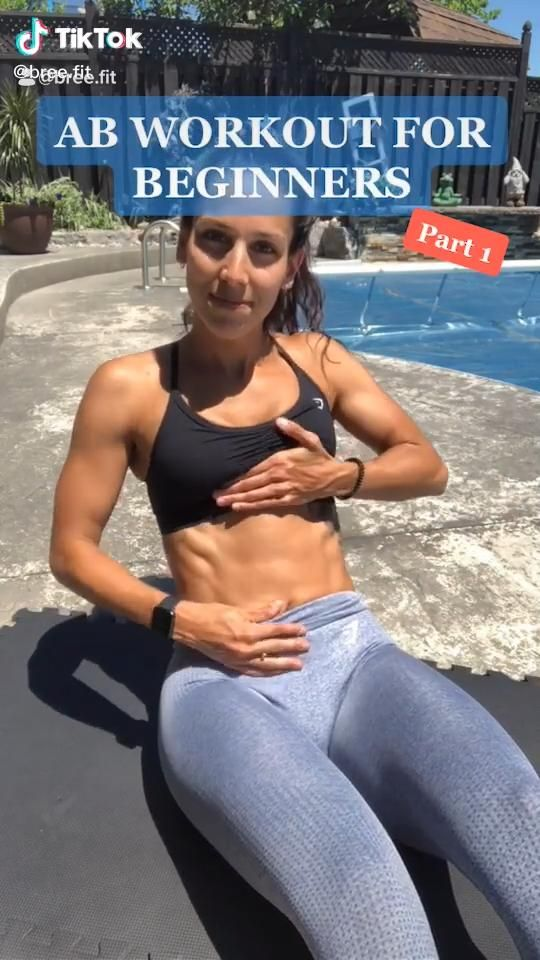 Ab workout for beggners. Tiktok: @bree.fit | Experience the World's Largest Library of Audiobooks. Free access to Exclusive Fitness & Weight loss programs and more! Listen in the Audible app. Sign up for Free! #ad